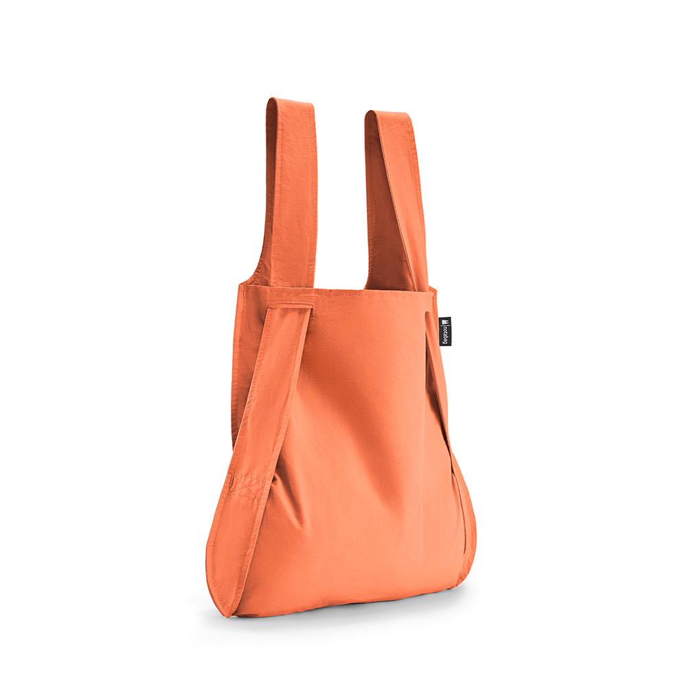 德國 Notabag 輕巧三用後背包/購物袋/手提袋/肩背袋 - 蜜桃