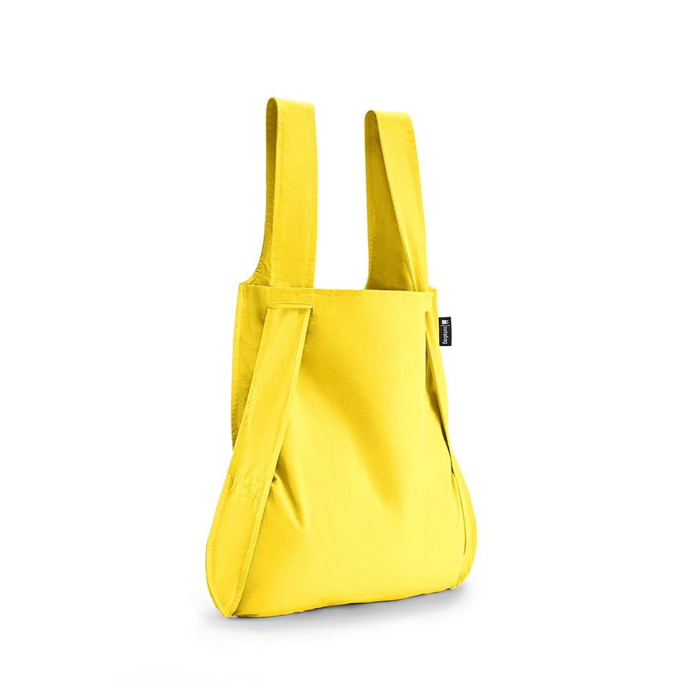 德國 Notabag 輕巧三用後背包/購物袋/手提袋/肩背袋 - 萊姆