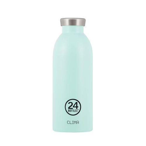 義大利 24Bottles | Clima不銹鋼雙層保溫瓶 500ml -  天空藍