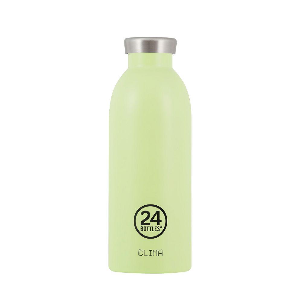 義大利 24Bottles|不銹鋼雙層保溫瓶 500ml -  開心果