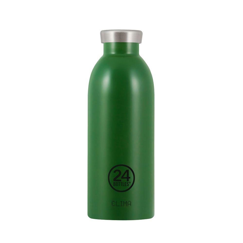 義大利 24Bottles | Clima不銹鋼雙層保溫瓶 500ml - 森林綠