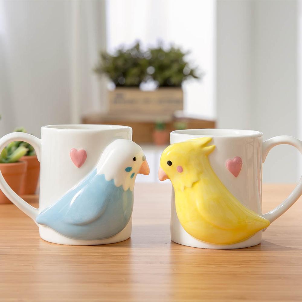 日本 sunart │對杯 - 愛情鳥