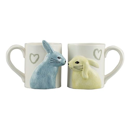 日本 sunart │對杯 - 兔兔親親