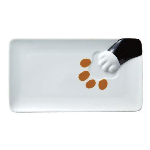 日本 sunart │長餐盤 - 黑貓偷食