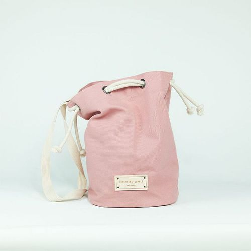 泰國 Something Simple|手作三用水桶包 - 粉紅