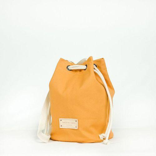 泰國 Something Simple|手作三用水桶包 - 芥末黃