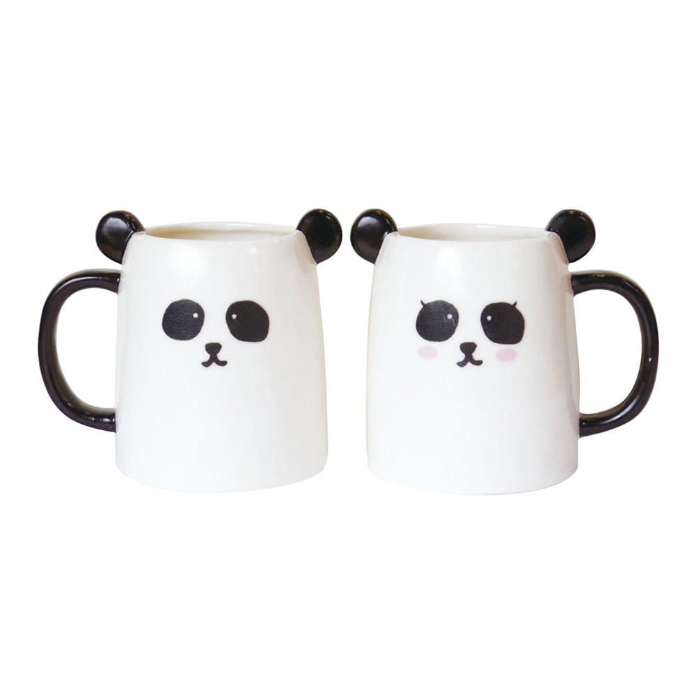 日本 sunart │ 對杯 - 貓熊配