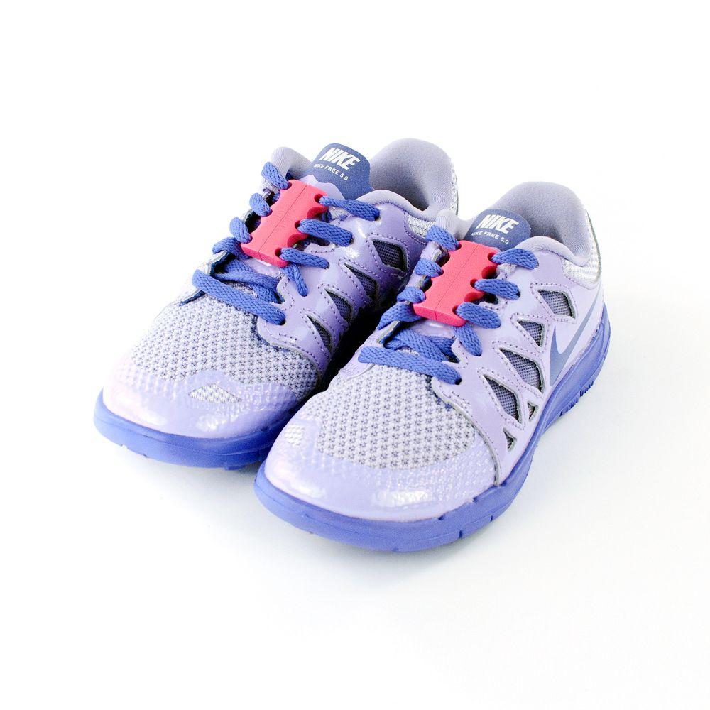 美國 Zubits 強磁鞋帶扣 1 號 - 粉紅