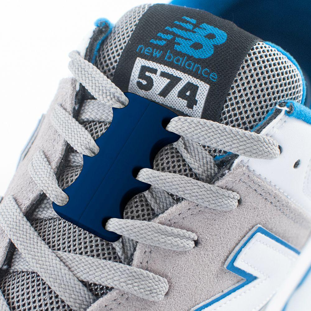 美國 Zubits│強磁鞋帶扣 2 號 - 軍藍