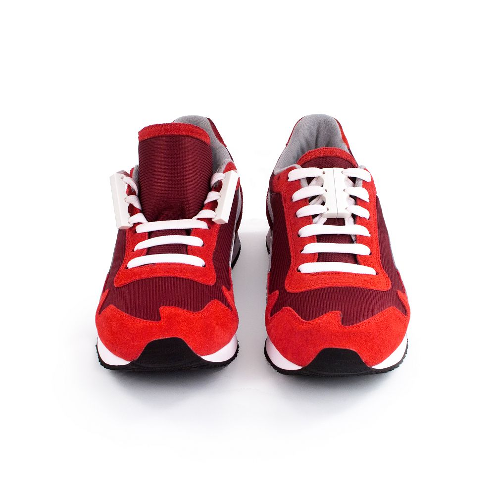 美國 Zubits|強磁鞋帶扣 2 號 - 純白