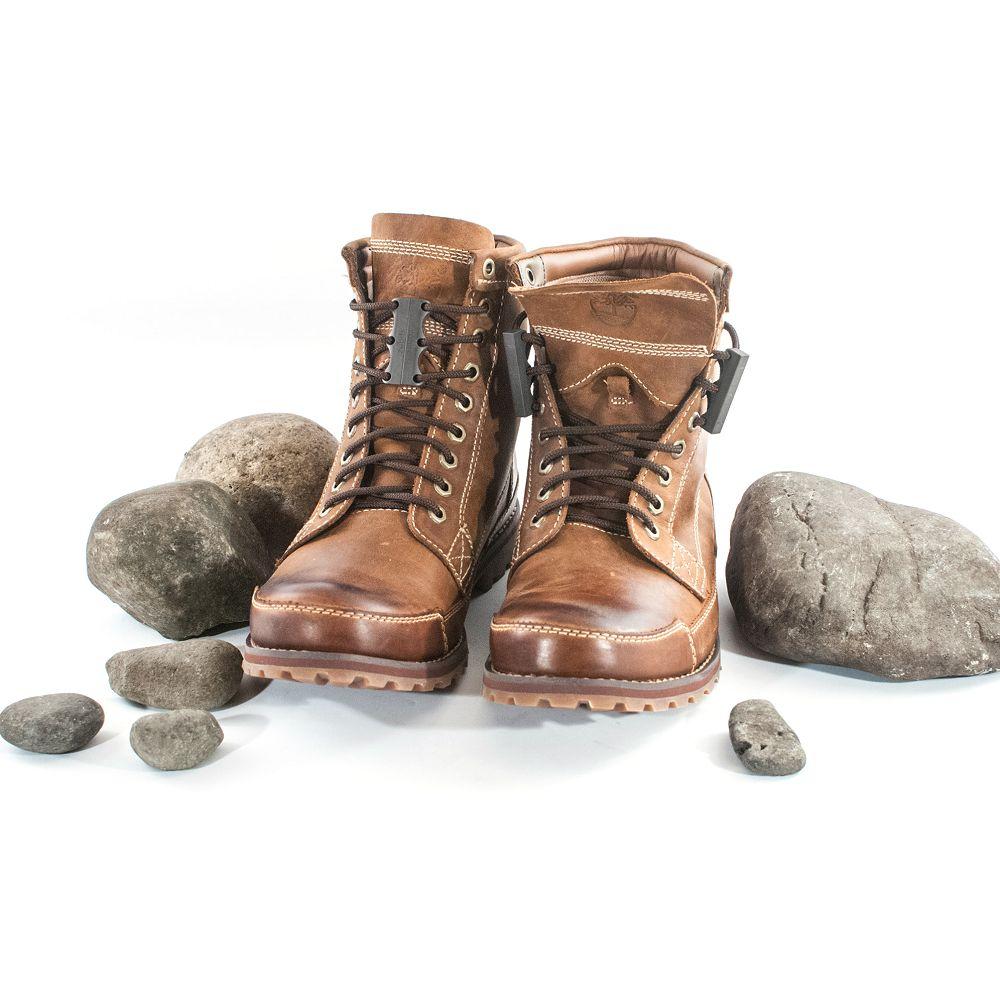 美國 Zubits|強磁鞋帶扣 3 號 - 鉛灰