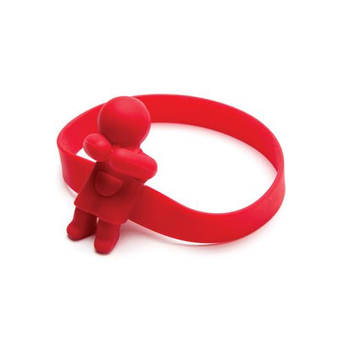 以色列 Monkey Business│餐具束帶 - 紅色緊抱