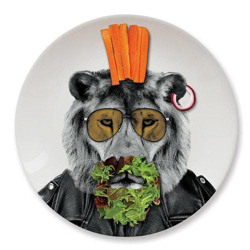 英國 Mustard│動物餐盤 9 吋 - 公獅