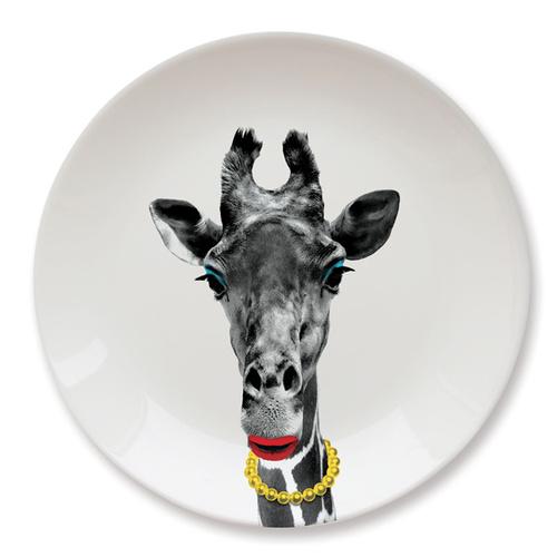 英國 Mustard│動物餐盤 9 吋 - 長頸鹿