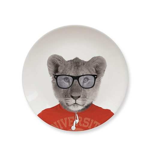 Mustard   動物餐盤 7 吋 - 幼獅
