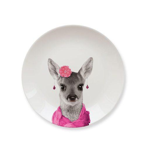 Mustard | 動物餐盤 7 吋 - 靚小鹿