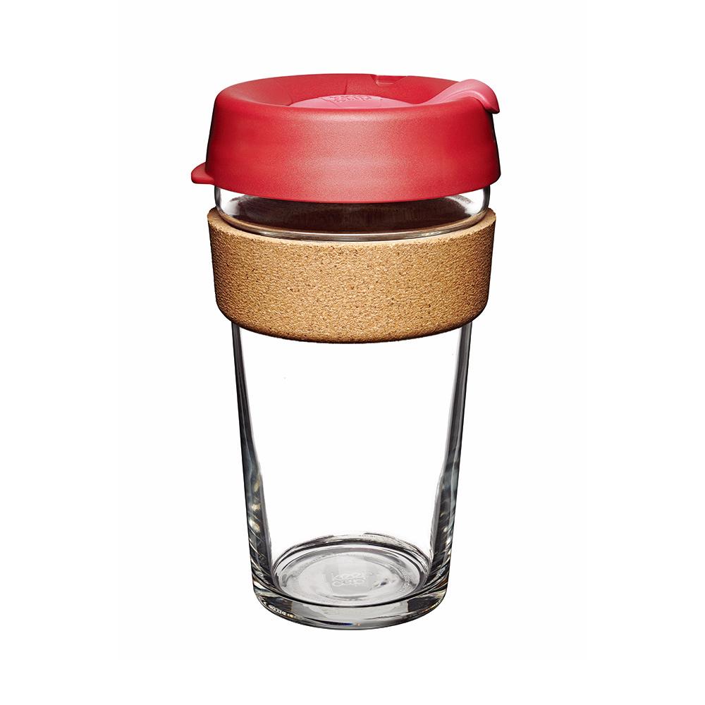 澳洲 KeepCup |  隨身咖啡杯 軟木系列 L - 熱情