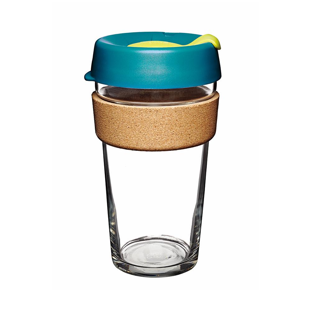 澳洲 KeepCup |  隨身咖啡杯 軟木系列 L - 沉靜