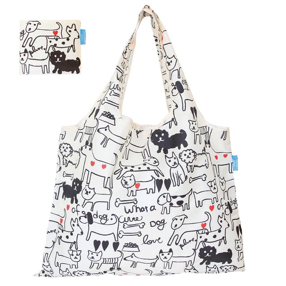 日本 Prairie Dog 設計包 - 黑白狗狗