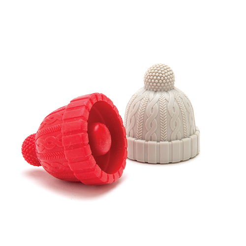 以色列 Monkey Business  酒瓶塞 - 毛帽(紅+膚)
