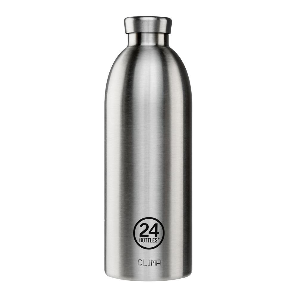 義大利 24Bottles | 不鏽鋼雙層保溫瓶 850ml - 不鏽鋼