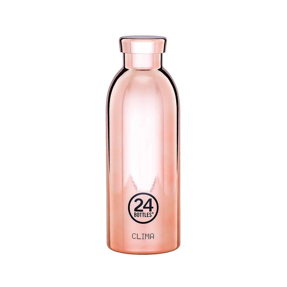 義大利 24Bottles | 不鏽鋼雙層保溫瓶 500ml - 玫瑰金