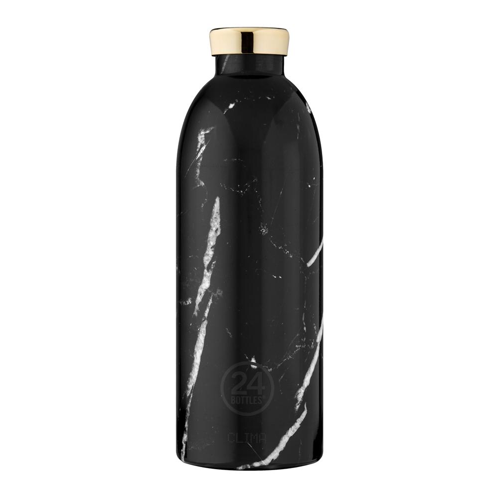 義大利 24Bottles | 不鏽鋼雙層保溫瓶 850ml - 黑雲石