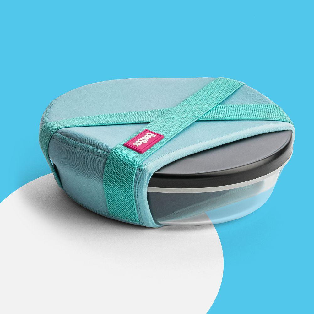 澳洲 BeetBox | 玻璃餐盒 850ml - 孔雀