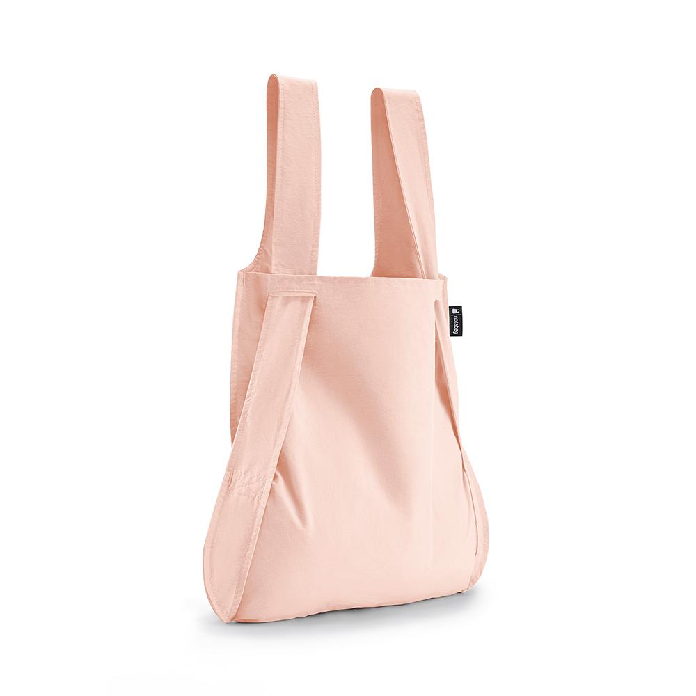 德國 Notabag|三用後背包/購物袋/手提袋/肩背袋 - 粉櫻