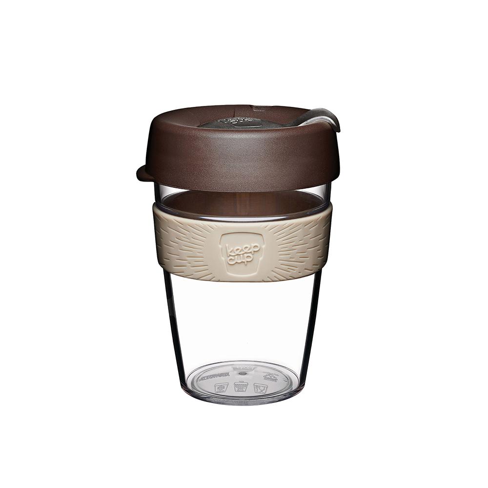 澳洲 KeepCup | 隨身咖啡杯 晶透系列 M - 巧克力摩卡