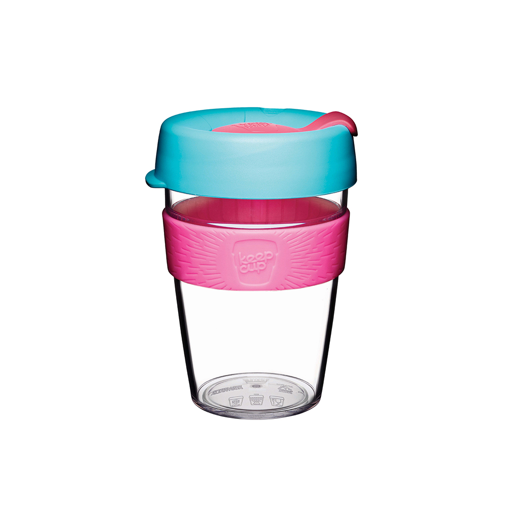澳洲 KeepCup | 隨身咖啡杯 晶透系列 M - 倒映櫻