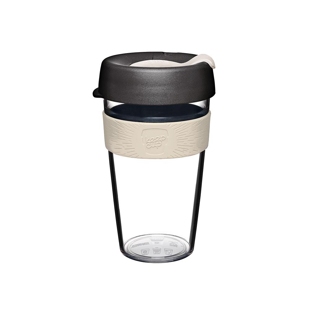 澳洲 KeepCup | 隨身咖啡杯 晶透系列 L - 法式裸色