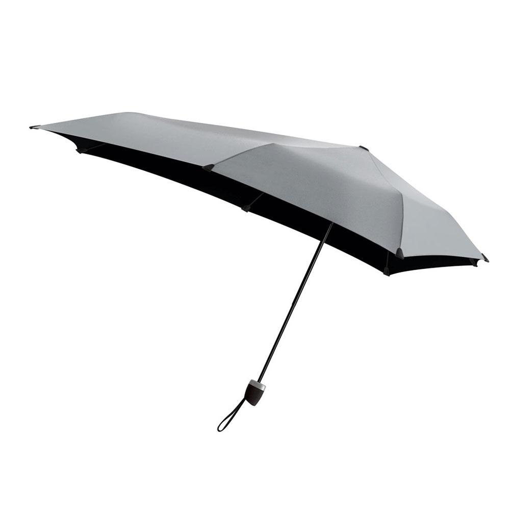 荷蘭 Senz 盛世 摺疊防風傘 - 耀銀灰