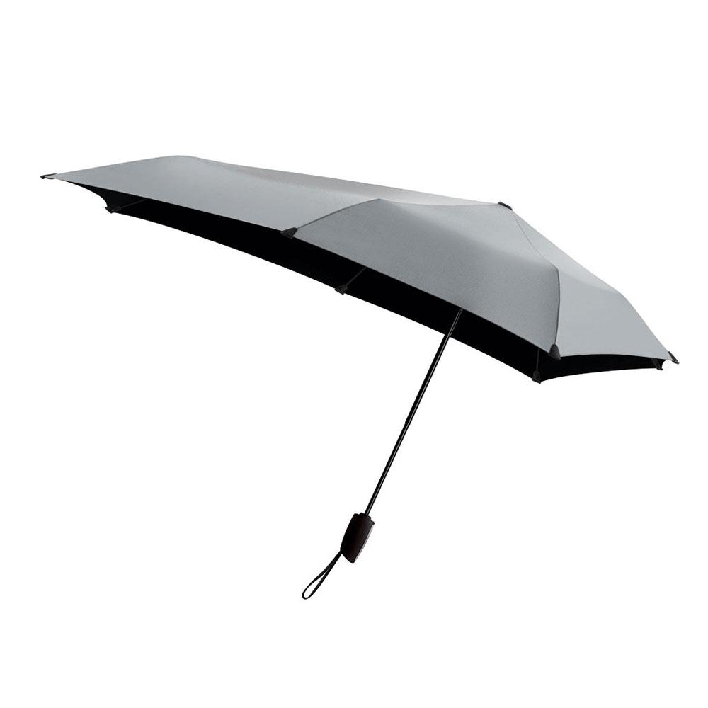 荷蘭 Senz 盛世|自動摺疊防風傘 -耀銀灰