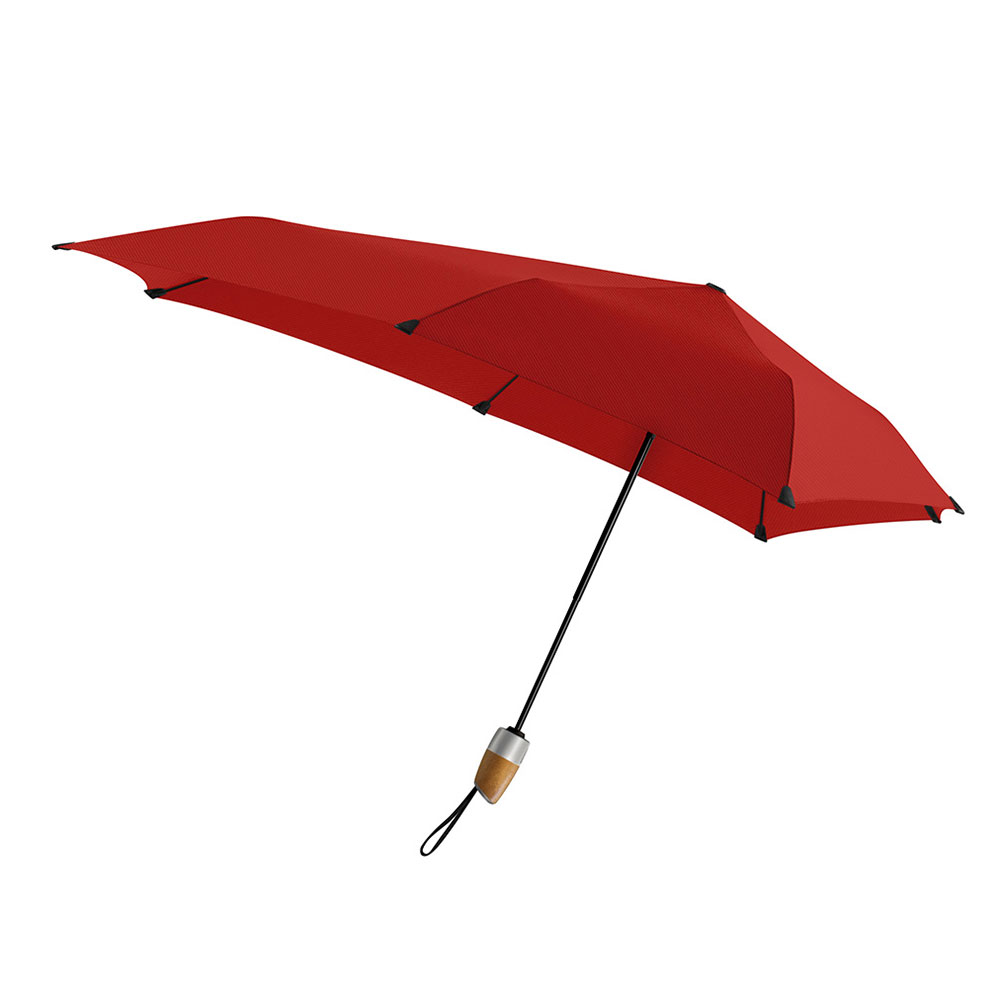 荷蘭 Senz 盛世|菁英自動摺疊防風傘 - 熱火紅