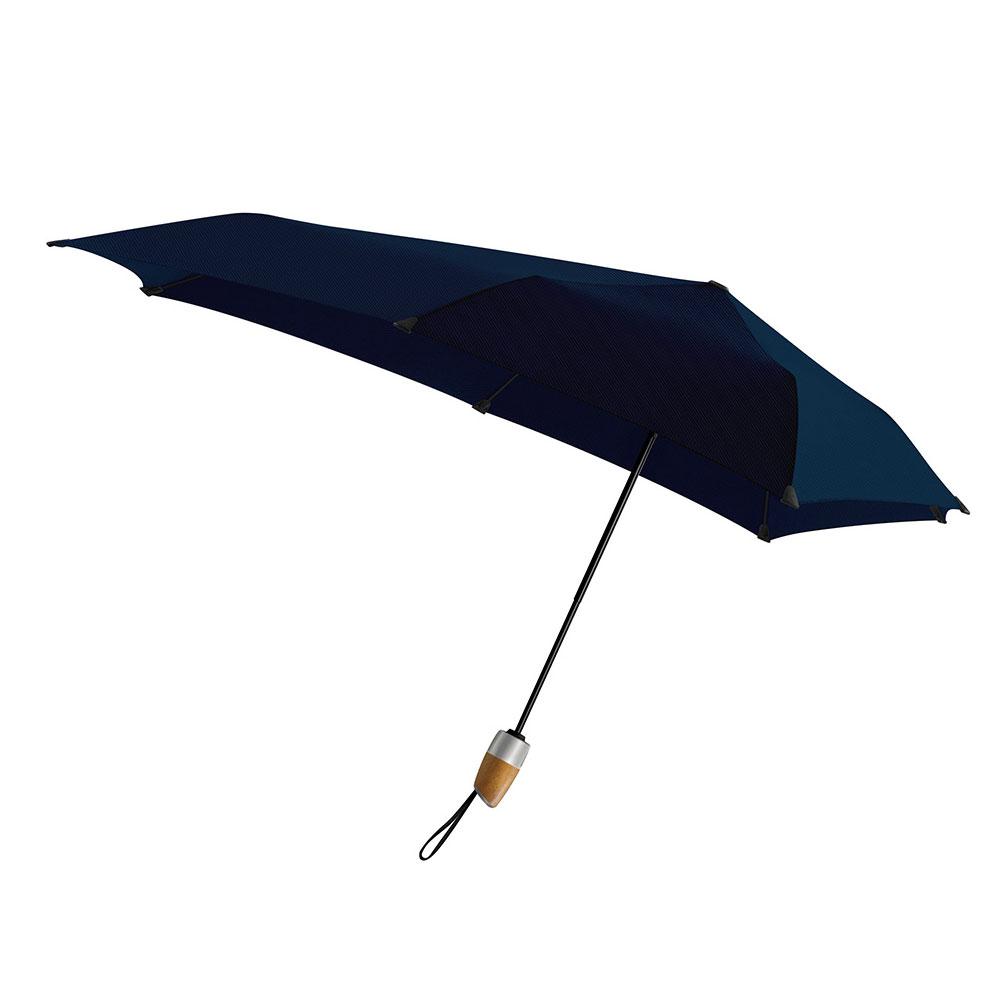 荷蘭 Senz 盛世|菁英自動摺疊防風傘 - 夜曲藍