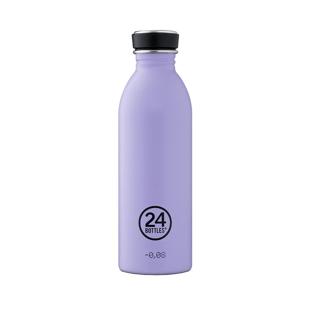 義大利 24Bottles|輕量冷水瓶 500ml - 薰衣草