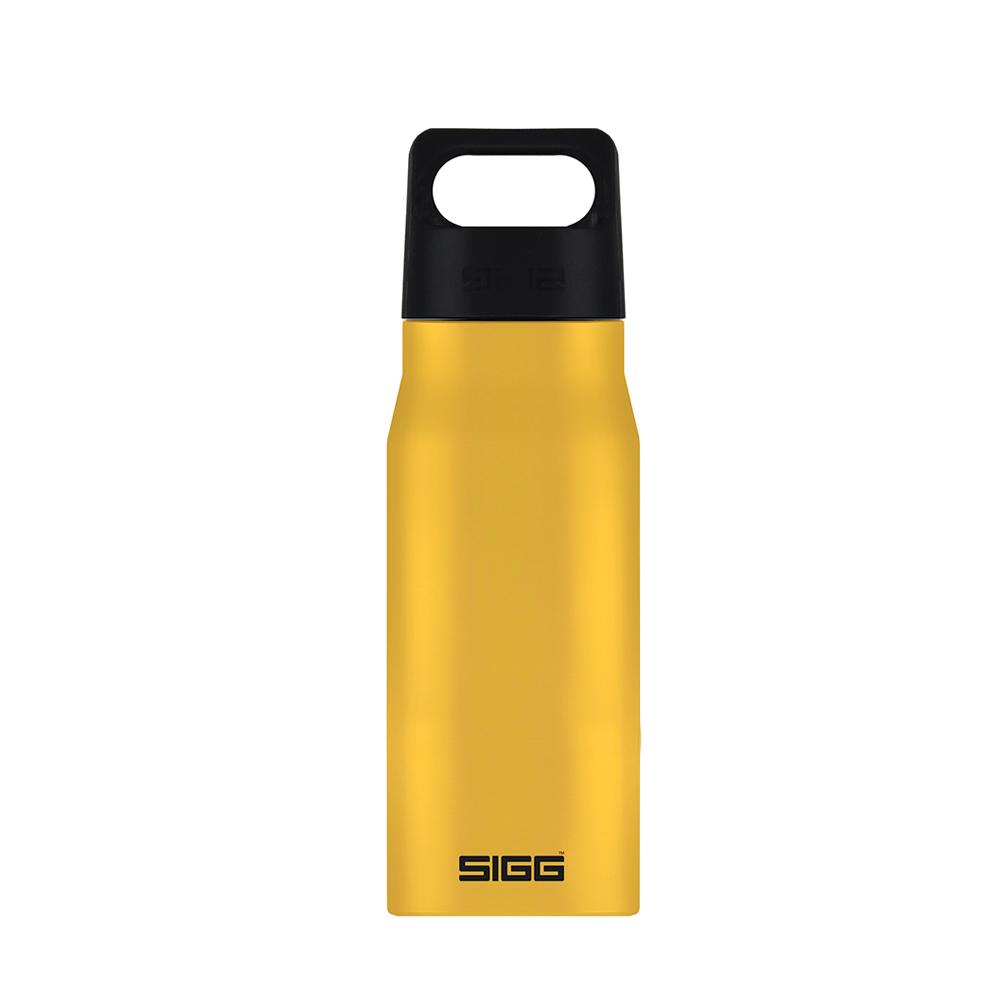 瑞士百年SIGG   探險家不鏽鋼冷水瓶 750ml - 芥末黃