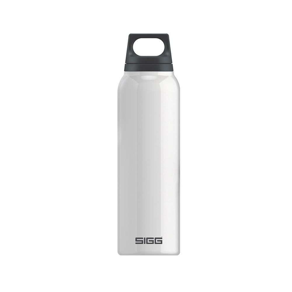 瑞士百年SIGG | H&C不銹鋼保溫瓶 500ml - 純雪
