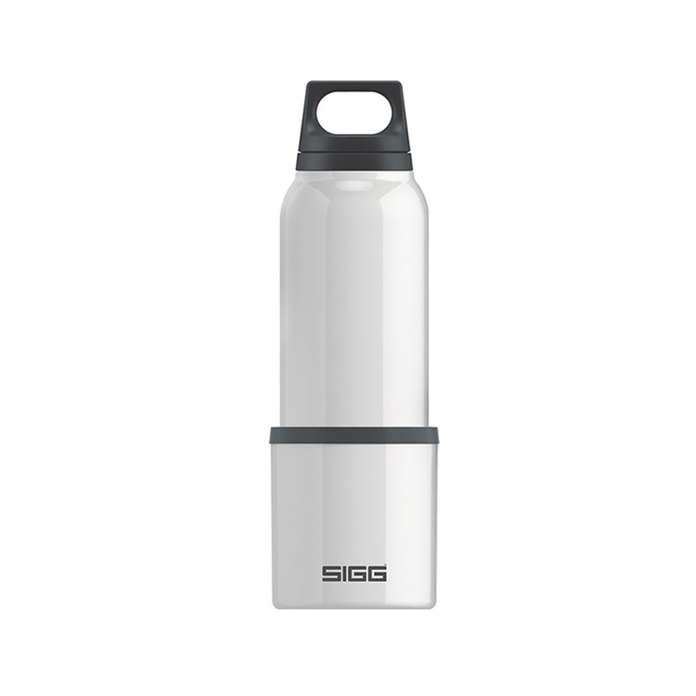 瑞士百年SIGG | H&C不銹鋼保溫瓶 (附杯) 500ml - 純雪