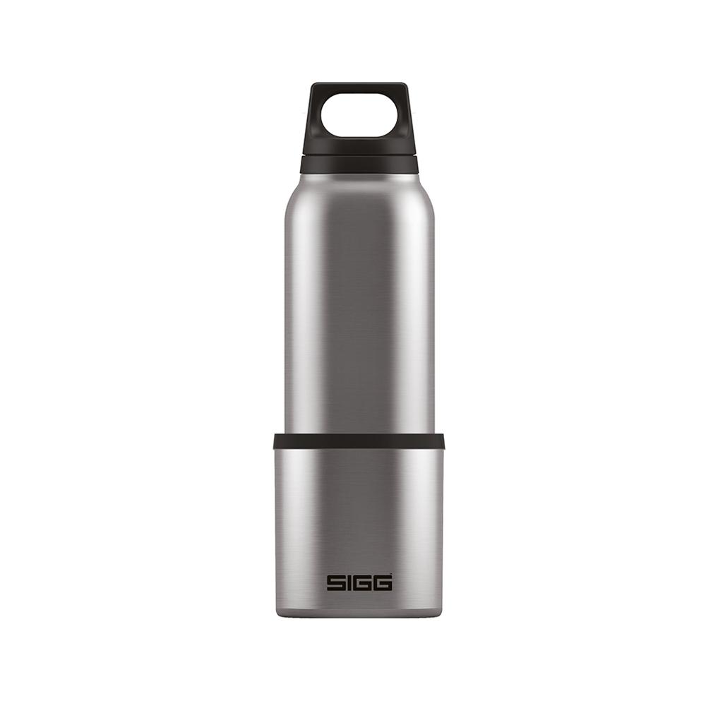 瑞士百年SIGG | H&C不銹鋼保溫瓶 (附杯) 500ml - 質感霧