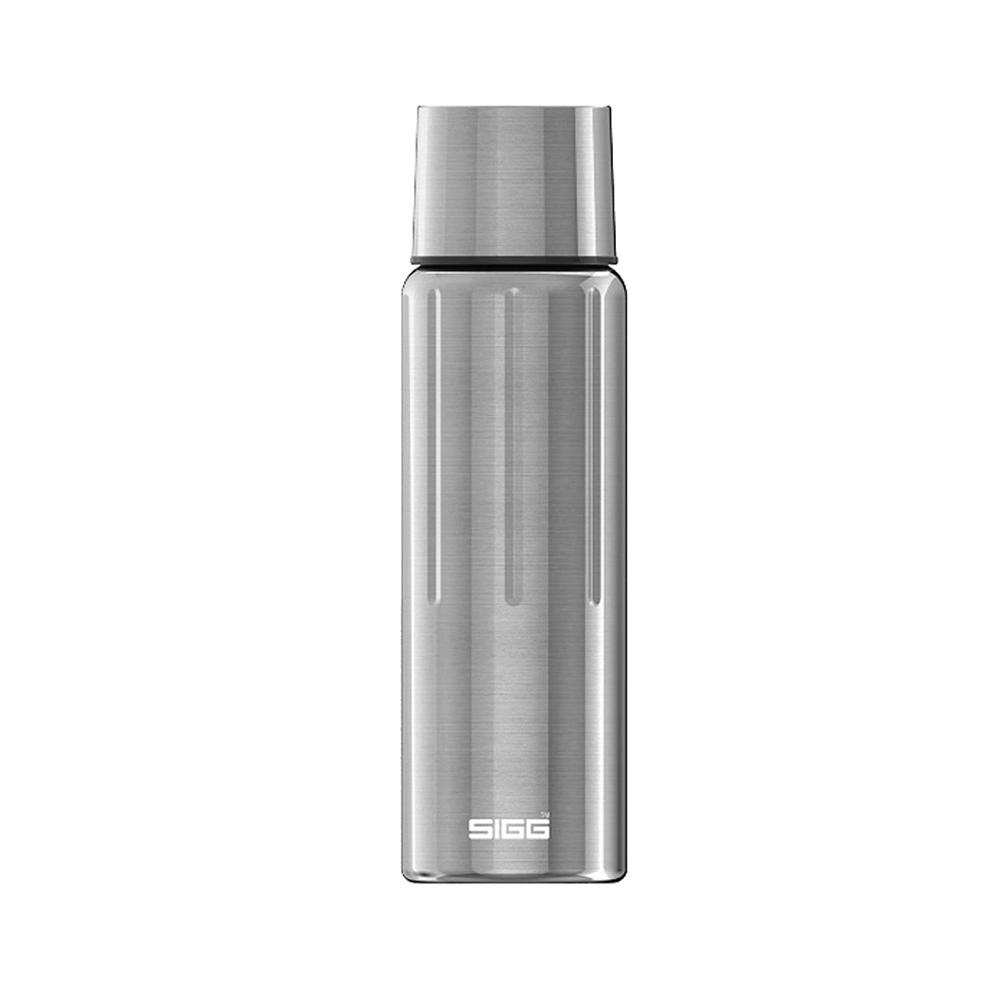 瑞士百年SIGG | 晶燦不銹鋼保溫瓶 750ml - 霧鋼銀