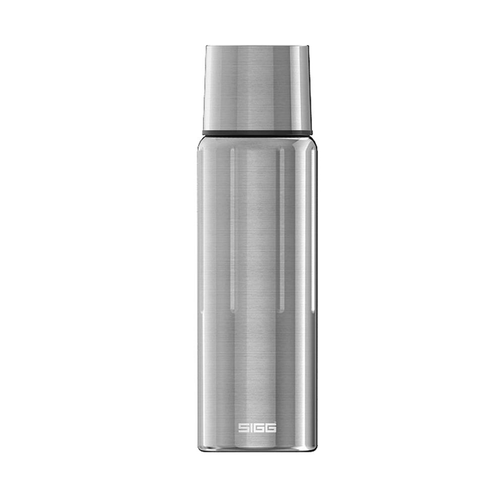 瑞士百年SIGG | 晶燦不銹鋼保溫瓶 1000ml - 霧鋼銀