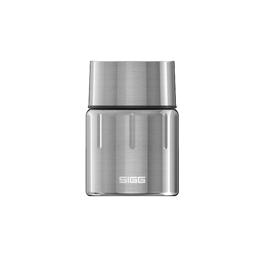 瑞士百年SIGG 晶燦不銹鋼悶燒罐(附匙) 500ml - 霧鋼銀