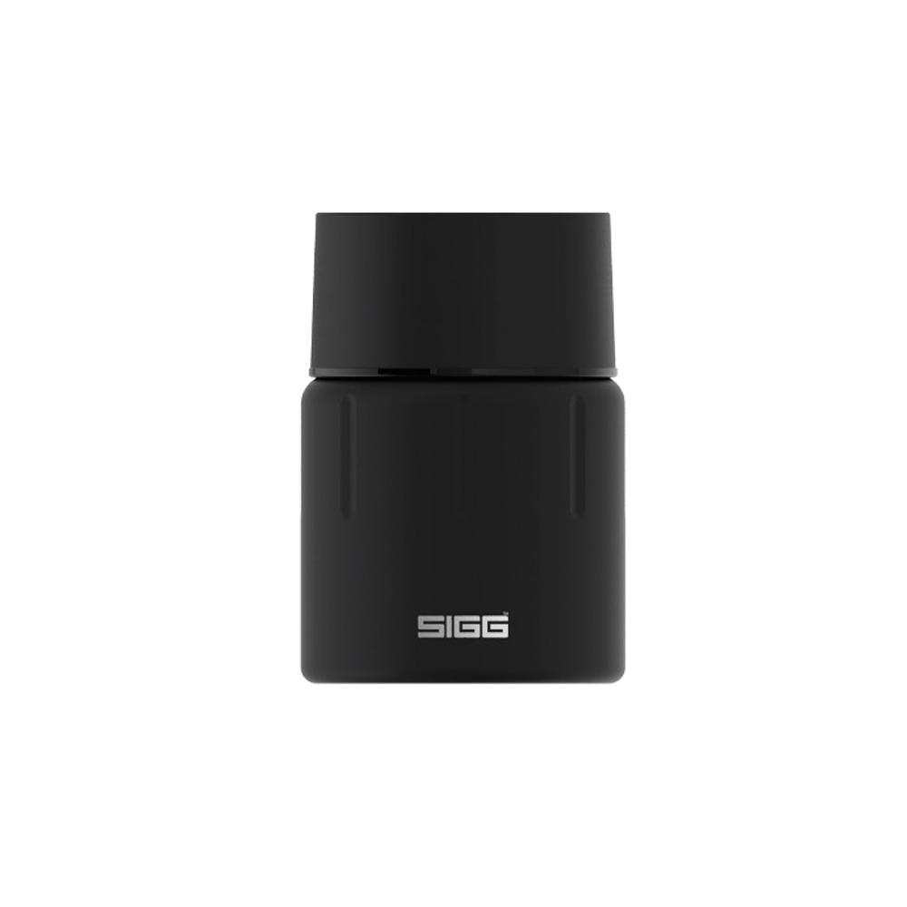 瑞士百年SIGG|晶燦不銹鋼悶燒罐(附匙) 500ml - 黑曜石