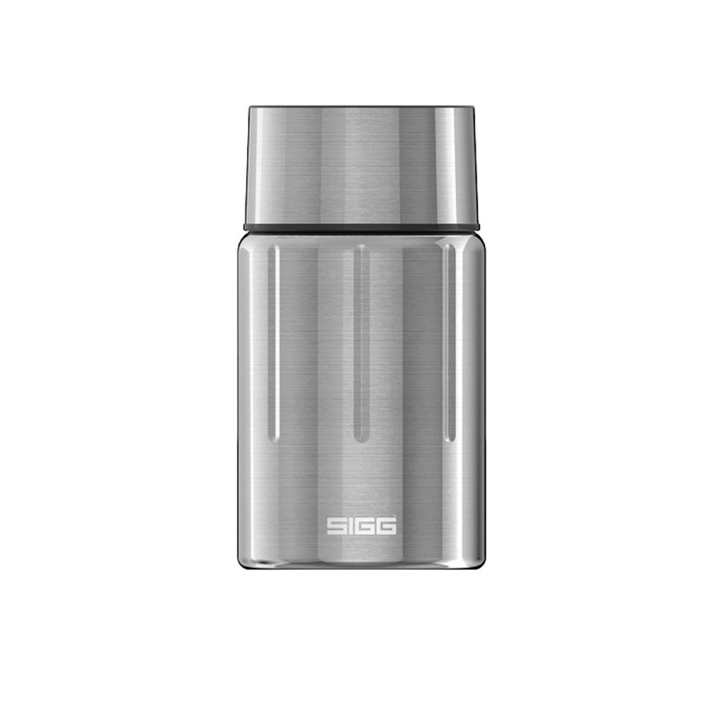 瑞士百年SIGG|晶燦不銹鋼悶燒罐(附匙) 750ml - 霧鋼銀