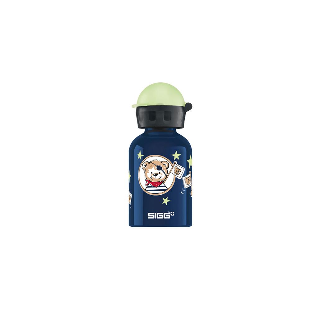 瑞士百年SIGG | 兒童冷水壺 300ml - (夜光) 海盜熊