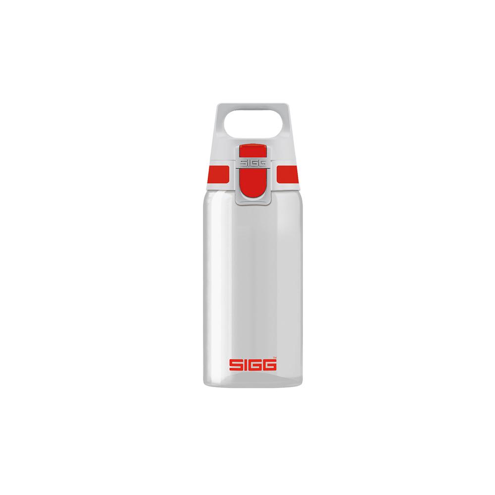 瑞士百年SIGG | 全清透Tritan 水瓶 500ml - 亮紅