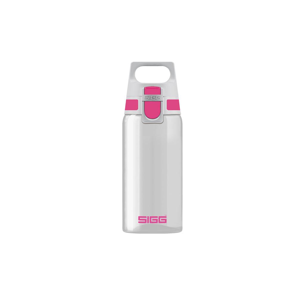 瑞士百年SIGG | 全清透Tritan 水瓶 500ml - 桃紅