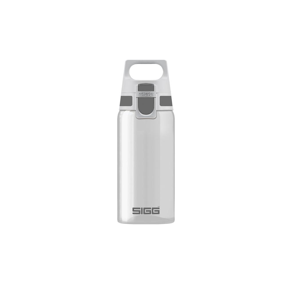 瑞士百年SIGG | 全清透Tritan 水瓶 500ml - 銀灰